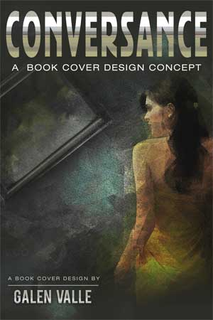 Book cover design concept by Galen Valle
