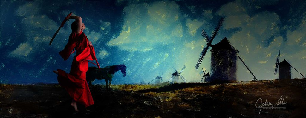 Don Quixote - Tilting at Windmills