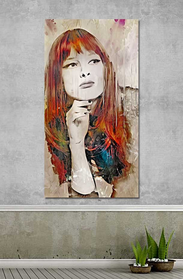 Maybe - Wall Art by Galen Valle