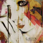 Pages -  Contemporary Abstract Portrait Art Print by Galen Valle