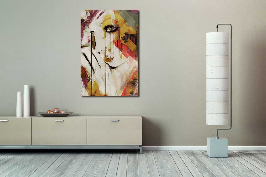 Pages - Contemporary abstract ar print by Galen Valle