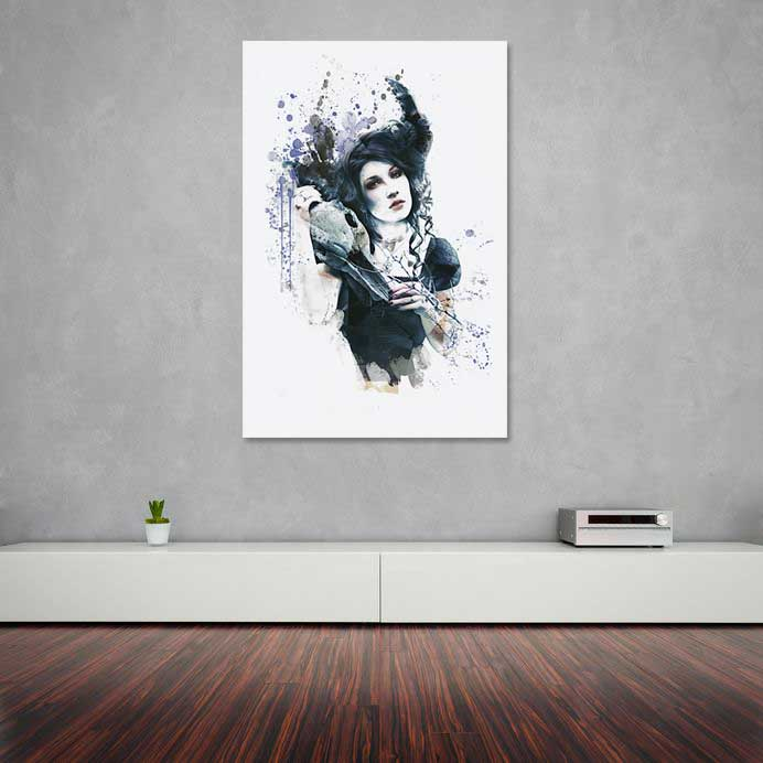 Reminders - Abstract Gothic Wall Art by Galen Valle