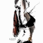 Arch - Contemporary Portrait Art Print by Galen Valle