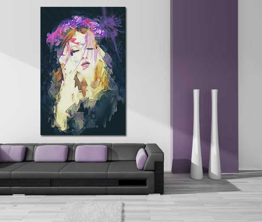 Path - Abstract Decor Art by Galen Valle