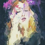 Path – Abstract Portrait Art Print